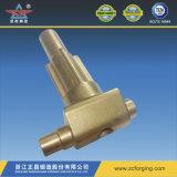 Ajustage de précision de cuivre pour l'usinage
