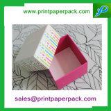 Schmucksache-/Schokoladen-/Kosmetik-/Blumen-Geschenk, das kundenspezifische Papppapierkasten verpackt