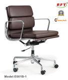 مكتب ألومنيوم حديثة مرود خابور جلد كرسي تثبيت أصليّة تنفيذيّ ([إ001-1])