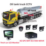 4channel Car Mobile DVR Recorder D1 con Motion Detection Car Black Box max 1t HDD&128GB SD Card Car SD Card Mobile DVR