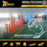 L'estrazione mineraria industriale asciuga l'idro strumentazione del separatore dell'idrociclone elaborare minerale del ciclone