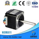 motor de pasos del reductor del engranaje de 0.34kg Nama 17