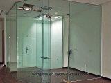 Panneau clair de porte de verre trempé de Frameless avec le certificat australien