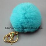 De Bal van het Bont van de Pompon van het konijn in China wordt gemaakt dat
