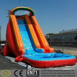 0.6~0.9 mm PVC Tarpaulin Giant Small Pool Inflatable Water Slide
