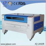 中国Jqレーザーの最もよい販売の二酸化炭素レーザーの切断の彫版機械はのためのボードを停止する