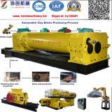 Automatische Schmutz-Lehm-Ziegeleimaschine mit Garantie und gutem Preis