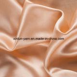Tela gruesa teñida hilado suave del poliester de la tela y liso