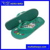Ботинки сандалии тапочки вскользь типа PVC с печатью слона