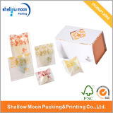 Caja de empaquetado de papel vendedora caliente del bosque de la categoría alimenticia (AZ-121704)