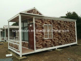 Casa moderna/chalet prefabricados del bajo costo del precio razonable/prefabricados por los días de fiesta Llife
