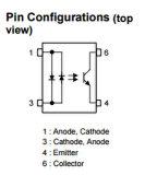 Photo du coupleur optique Tlp126 de contrôleur programmable - transistor