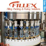 Machine de remplissage rotatoire de l'eau de bouteille ronde et carrée d'animal familier