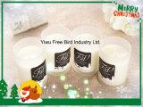 Handgemachte duftende Sojabohnenöl-Kerze für Hauptdekoratives im Glasglas