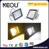 Indicatore luminoso di inondazione caldo di vendita Ce/RoHS LED 10With20With30With50W