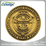 Personalized Antique Nickel Plated Corporate Metal Coin