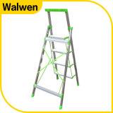 Huishouden die van de Stappen van de Prijs van de fabriek het Brede de Ladder van het Aluminium vouwen