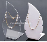 Custom White Jewelry Display Neck Stands Btr-A2080