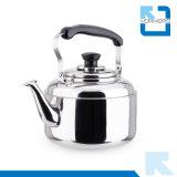Caldaia dell'acqua dell'acciaio inossidabile 201 e caldaia di tè con la maniglia portatile