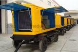 Gás de diesel de gás móvel Genset de energia elétrica refrigerada a água Conjuntos de gerador de energia elétrica