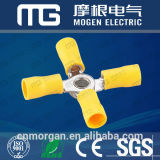 RV2-5 파란 격리된 주석에 의하여 도금되는 PVC 큰성공의 기회 단말기
