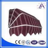 Sale&の人気中国の上10の製造者からのアルミニウムEstrusionのプロフィールのための使用されたアルミニウム日除け
