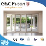 Fuson Continuous Exterior Aluminum Folding Door for Balcony