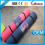 Multi Color One Layer 6mm Latex Free Eco Yoga Mat