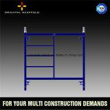 建設用機器フレームの足場梯子フレーム