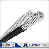 Camarón triple agrupado aéreo/gamba del ABC del cable de la lista de precios 0.6kv/1kv del cable