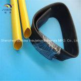 高圧バス・バーの熱-接合箇所のための縮みやすいワイヤー保護覆いの管