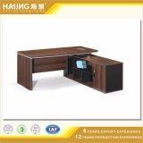 Mesa de madeira do projeto natural italiano, mesa do computador de escritório