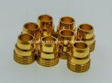주문을 받아서 만들어진 금속 CNC 기계는 알루미늄 CNC 예비 품목을 분해한다