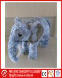 아기를 위한 안아주고 싶은 보라빛 색깔 견면 벨벳 장난감 코끼리