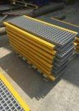 Pisadas de escalera antirresbaladizas de FRP/GRP, escalera antirresbaladiza de la fibra de vidrio, rejas de la fibra de vidrio