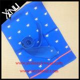 Gravata com logotipo feito à mão com 100% de seda com cachecol combinado