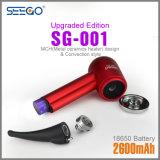 2017 nuovo tubo di fumo aggiornato antisettico del vaporizzatore Sg-001 con tecnologia infrarossa