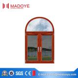 Finestra di alluminio della stoffa per tendine di Outswinging della rottura termica di vetro Tempered di Madoye