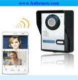 Беспроволочный дверной звонок телефона двери WiFi видео- с двухсторонней системой внутренней связи