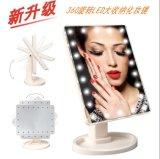 360 16lights rodantes se levantan el espejo del maquillaje de la vanidad LED de Hollywood del espejo con la batería del AA