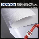 Bandiera rivestita del tessuto del poliestere del PVC per la grande pubblicità esterna