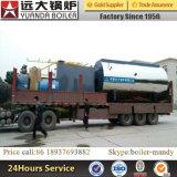 Wnsシリーズディーゼル石油燃焼の熱湯の産業ボイラー価格
