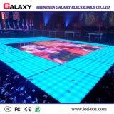 Altos pantalla de visualización de la dureza P6.25/P8.928 LED Dance Floor/panel para la boda, etapa, barra, demostración