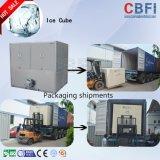 10 toneladas/24 de gelo horas de máquina do cubo