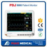 Monitor paciente del multiparámetro profesional barato de la ambulancia (Capnograph)