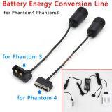 Dji-Phantom3-4를 위한 건전지 에너지 전환 선 케이블 카 충전기 부속품