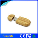 Выдвиженческий подарок гравирует ручку USB логоса деревянную