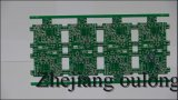 2 Couche Hal plomb PCB libre avec masque vert de soudure