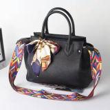 方法Corofulストラップの本革はスカーフEmg4939が付いている女性のハンドバッグのトートバックを袋に入れる