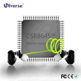 Receptores de cabeza sin hilos estéreos de Bluetooth, deportes Earbuds con HD Mic
